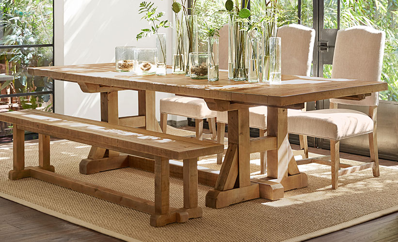 buying wooden table