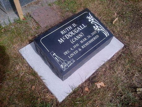 Flat Headstone